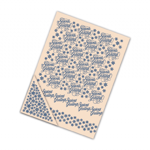 Tattered Lace Embossing Folder Season's Greetings - EF076